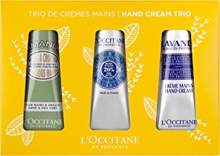 L'Occitane Hand Cream Classics Trio Gift Set Enriched with Shea Butter for Dry Hands