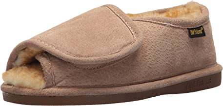 adjustable sheepskin slippers