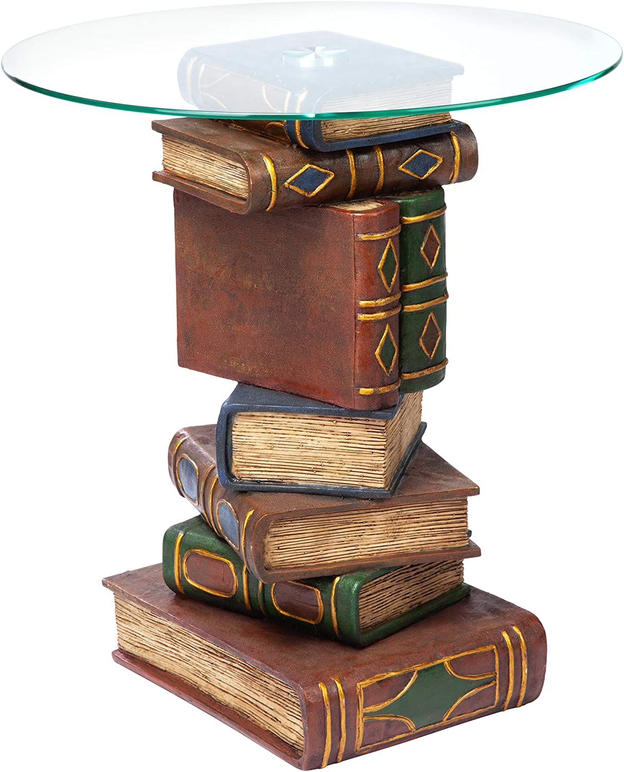 Design Toscano Stacked Book Volumes Decor Table Selling rankings with End Vintage Very popular