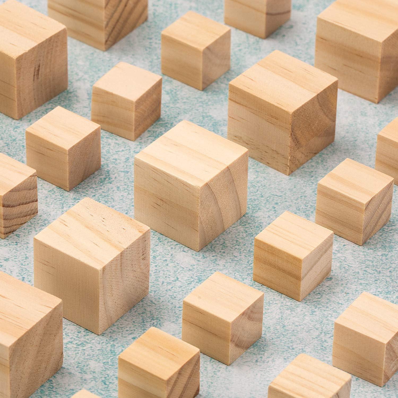 pittura pirografica e incisione laser Yangbaga tavola di legno piccoli pezzi di legno Targa in legno artigianale fai-da-te con catena portachiavi con foro ideale per artigianato 80 pezzi 35x50x3mm