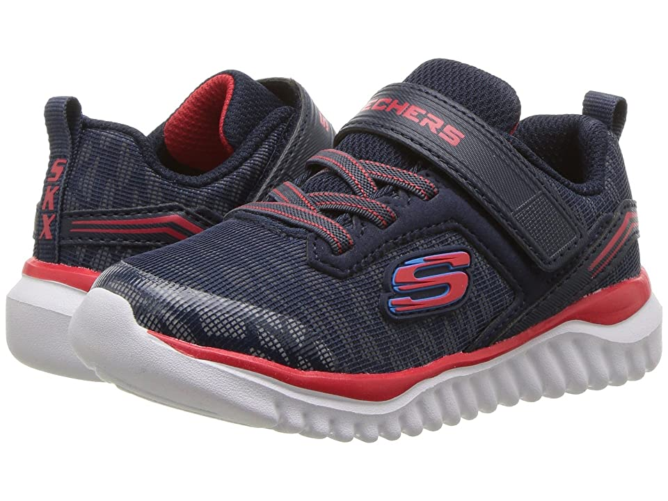 SKECHERS KIDS Turboshift Ultraflector (Toddler) (Navy/Red) Boy