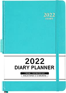 """$21 » Sponsored Ad - 2022 Appointment Book & Planner - Daily Hourly Planner 2022 from Jan 2022 - Dec 2022, 5.75"""" X 8.25"""", 60-Min..."""