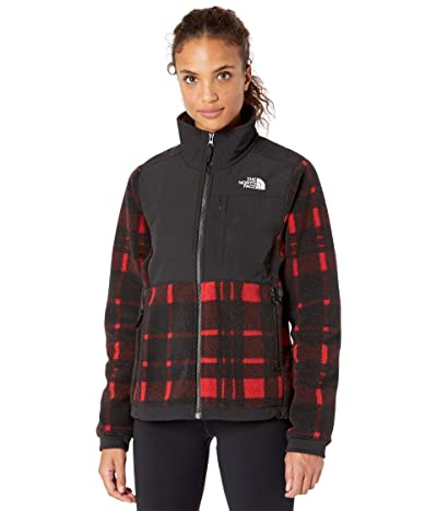The North Face Denali 2 Jacket (TNF Red Holiday 2 Plaid Print) Women
