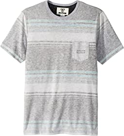 VISSLA Kids - Bartlett Short Sleeve Pocket Tee (Big Kids)