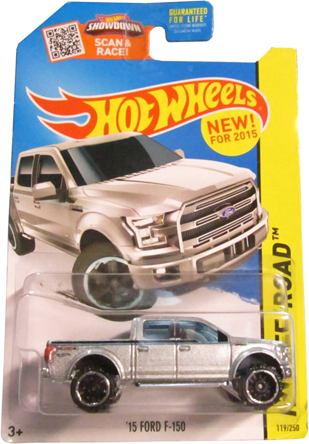 Hot Wheels, 2015 Off-Road, '15 Ford F-150 [Silver] Die-Cast Vehicle  119 250 by Hot Wheels