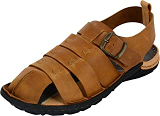 FORESTHILL Men's Leather Outdoor Sandals