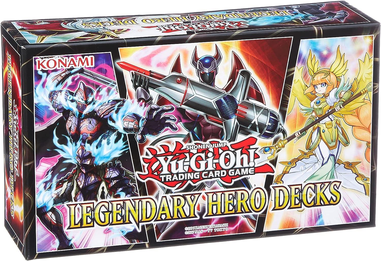 Yu Gi Oh, KONLEHD, Legendary Hero Decks