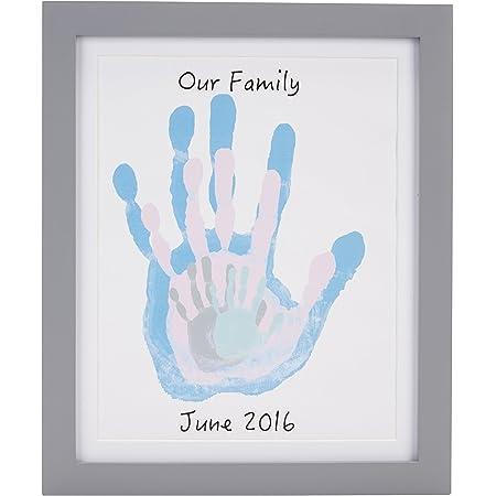 Amazon Com Pearhead Diy Handprint Frame And Paint Kit Family Craft Night Ideas Diy Gifts Baby