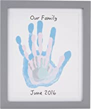 Pear Head Family Handprint Kit (Black, Green, Grey, Pink, and Blue)