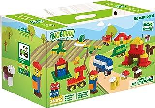 BiOBUDDi-BB-0032 Babies and First Childhood Blocks Games Daily Education, Multicolour (BB-0032)