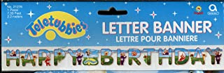 Teletubbies Happy Birthday Letter Banner - Over 7 Feet Long