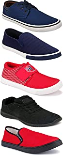 Shoefly Sports Running Shoes/Casual/Sneakers/Loafers Shoes for Men&Boys (Combo-(5)-1219-1221-1140-664-1017)