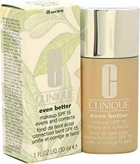 Clinique Even Better Makeup Spf 15 Dry to Combination Oily Skin for Women, Sand, 1 Ounce