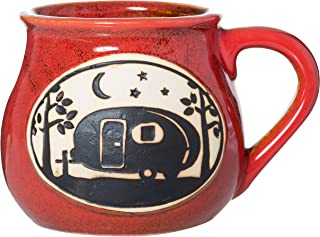 handcrafted pottery mugs