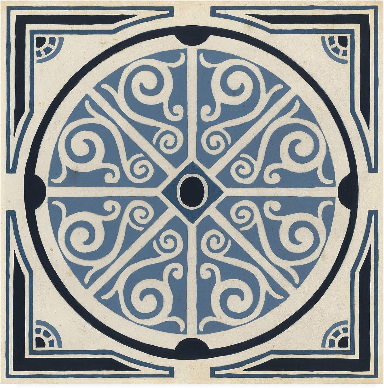 Trademark Fine Art Indigo Motif II by June Erica Vess, 14x14
