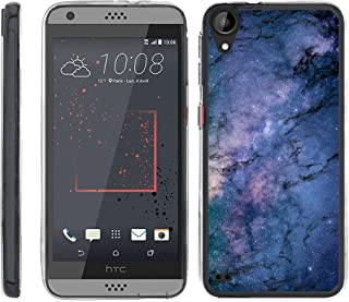 TurtleArmor | Compatible with HTC Desire 530 Case | Desire 630 | Desire 550 [Flexible Armor] Flexible Slim Fitted TPU Bumper Case Cover - Marble Galaxy