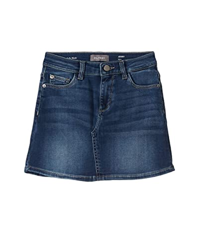 DL1961 Kids Jenny Knit Skirt (Big Kids) (Hoover) Girl