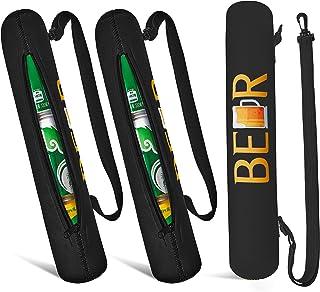 2 Pieces Golf Bag Cooler 3-Can Cooler Insulated Sleeve Golf Cooler Golf Bag Beverage Beer Sleeve for Golf Bag Golf Beer Sl...