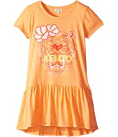 Kenzo Kids - Ruffled Tiger Dress (Big Kids)