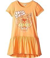 Kenzo Kids - Ruffled Tiger Dress (Big Kids)