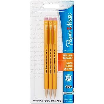 Paper mate Non Stop Orange Barrel Mechanical HB 0.7mm Pencils