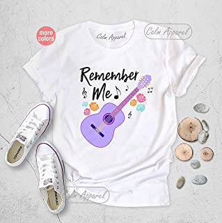 Remember Me Coco Birthday Party Unisex Shirts, Matching Family Holiday Tees, Music Lover Gift Tops