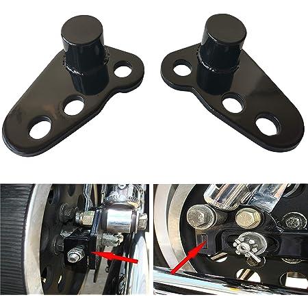 1 or 2 Adjustable Lowering Kit For Harley-Davidson Electra Glide// Street Glide// Ultra Glide// Road Glide Black HTT Motorcycle Drop Kit