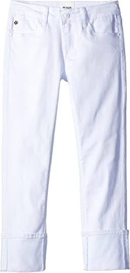 Hudson Kids Ginny Crop Jeans in White (Big Kids)