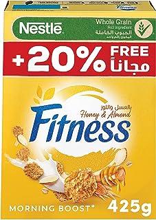 Nestle Fitness Nestle Honey & Almond Breakfast Cereal 425g – Promo Pack