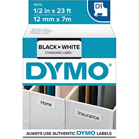 30 Compatible Dymo D1 40913 Label Tape Black on White LabelManager 150 280 350