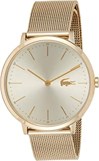 Lacoste Women's Gold Dial Stainless Steel Band Watch - 2001000