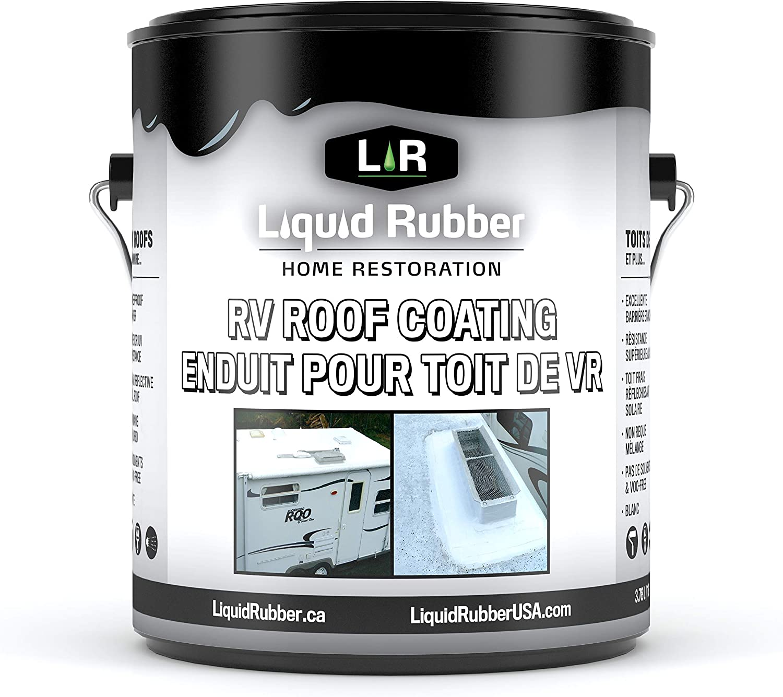 1. Liquid Rubber RV Roof Coating