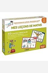 Mes leçons de maths CP, CE1, CE2: 50 cartes mentales pour comprendre facilement la numérotation, le calcul, la géométrie et les mesure. 1 livret explicatif Broché
