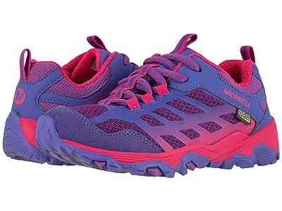 Merrell Kids Moab Low A/C Waterproof (Little Kid/Big Kid) (Purple/Pink) Girls Shoes
