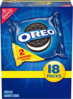 Oreo Chocolate Sandwich Cookies - Snack Packs, 14.04 Ounce