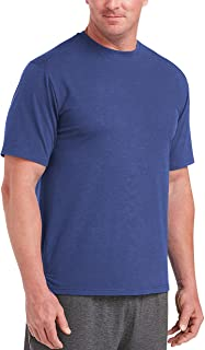 Men's Big & Tall Performance Cotton Short-Sleeve T-Shirt fit by DXL