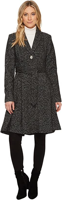 Ivanka Trump - High-Low Shawl Collar Wool