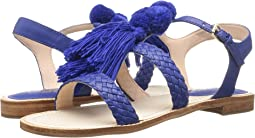 Cobalt Woven Nappa