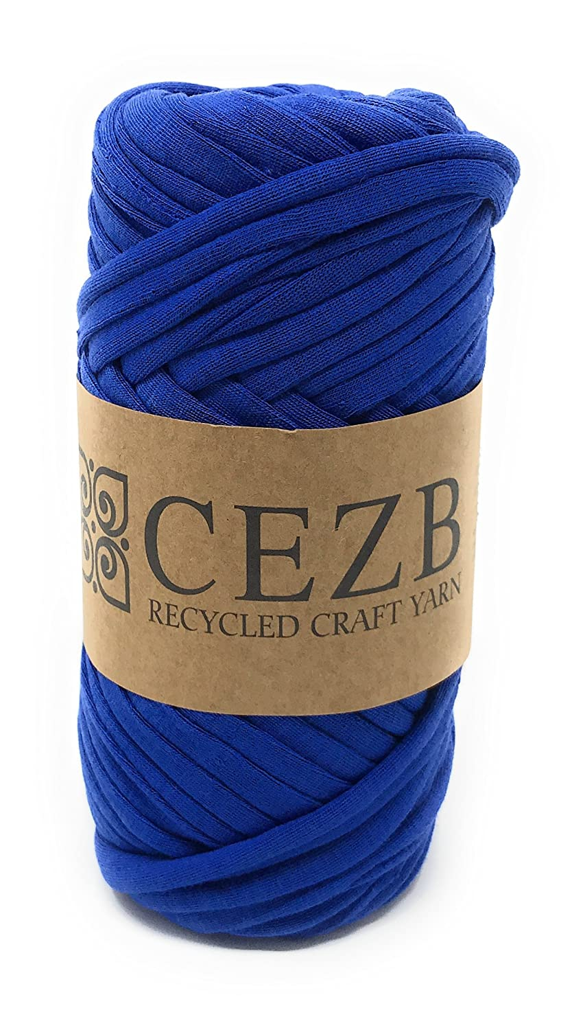 T-Shirt Yarn Bulky Fettuccini Zpagetti Style Elastic Strong Cloth T Shirt Trapillo Yarn Ball for Knitting Sewing Crocheting Bags Bowls DIY Handicraft and Home décor Projects -Small Size - Yarn#583