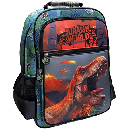 CYP Brands Jurassic World MC-32-JW Mochila Adaptable a Trolley, Verde