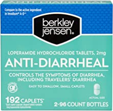 Berkley Jensen Anti-Diarrheal Caplets, 192 ct.