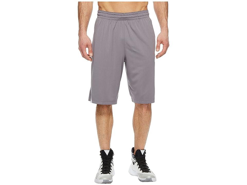 Nike Dry Buckets Basketball Short (Gunsmoke/Black/White) Men