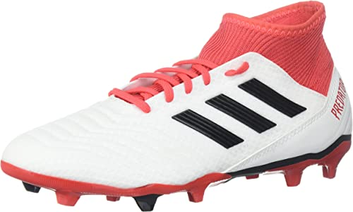 adidas ACE 18.3 FG, Weiß core schwarz Real Coral, 11.5 M US