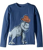 Tyrannosaurus Tex Crusher T-Shirt Long Sleeve (Little Kids/Big Kids)