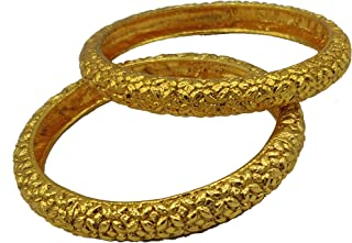 Classiques Gold Plated Designer Bangles