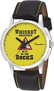 Timebre Men Whiskey Casual Analog Watch