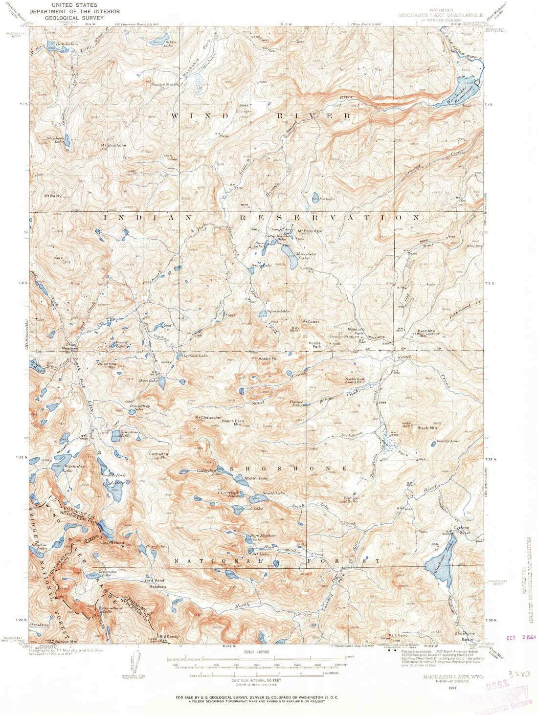 YellowMaps Moccasin Lake WY topo map X Min Max 48% OFF 1:62500 15 Scale Max 79% OFF