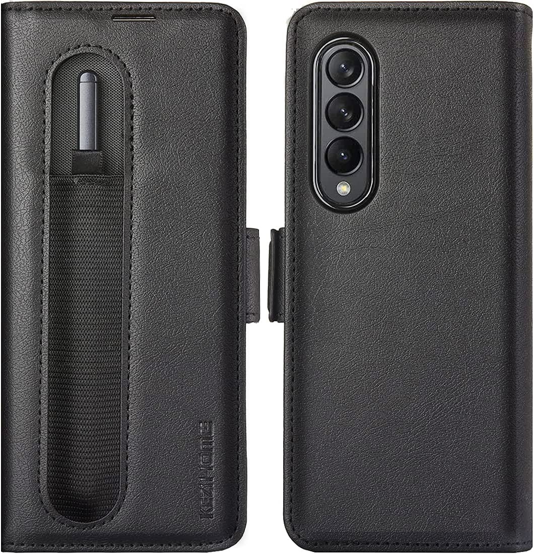 Manufacturer direct delivery KEZiHOME Samsung Galaxy Z Fold 3 5G with Gala Pen S Holder 67% OFF of fixed price Case