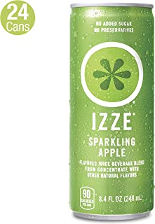 IZZE Sparkling Juice, Apple, 8.4 Fl Oz (24 Count)