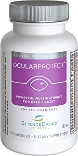 OcularProtect Whole Body Formula - Specialized Eye & Body Multinutrient - 120 Capsules